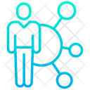 Employee Networking Icon