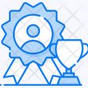 Employee Of Month Employee Appraisal Employee Reward Icon