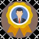Employee Businessman Best Icon