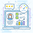 Employee Commitment Efficiency Job Performance Icon