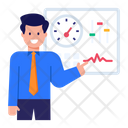 Employee Productivity Employee Performance Employee Speed Icon