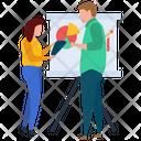 Employee Presentation Hr Training Presentation Icon