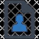 Employee Profile Startup Statistics Icon