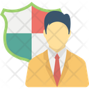 Business Defense Business Insurance Concept Business Protection Icon