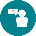 Employee Query Question Icon
