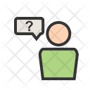 Employee Question Query Icon