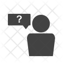 Query Question Employee Icon