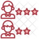 Employee Rating Worker Rating Rating Icon