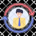 Employee Rehiring Icon