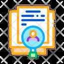 Study Human Documents Icon