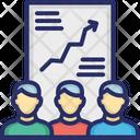 Employee report Icon