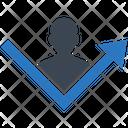 Report Employee Analytics Icon