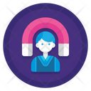 Employee Retention Employee Support Client Support Icon