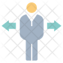 Man Rotate Businessman Icon