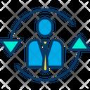 Employee Rotation Icon
