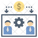 Employee Commission Salary Icon
