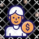 Employee Salary Employee Job Icon