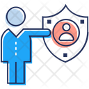 Employee Security Employee Protection Staff Safety Icon