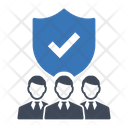 Team Business Security Icon