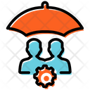 Employee Security Employee Protection Protection Icon