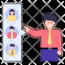 Choose Employee Employee Selection Candidate Selection Icon