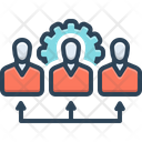 Employee Setting Worker Setting Relate Icon