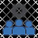 Teamwork Staff Employees Icon