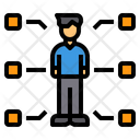 Skill Man Businessman Icon