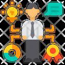 Skills Recruitment Prize Icon