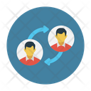 Employee Swapping Icon