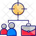 Employee Target Icon
