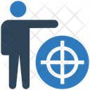 Employee Target Satff Target Target Icon