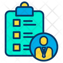 Employee Tasklist Icon
