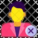 Employee Termination Staff Dismissal Employment Termination Icon