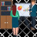 Employee Training Business Workshop Employee Presentation Icon