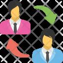 Employee Turnover Staff Icon