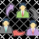 Business Management Employee Training Employee Turnover Icon