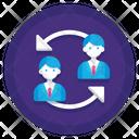 Employee Turnover Icon
