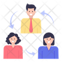 Employee Exchange Employee Turnover Candidate Turnover Icon