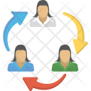 Employee Turnover Promotion Icon
