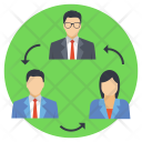 Employee Turnover Replacement Icon