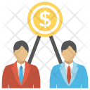 Employee Wages Benefits Icon