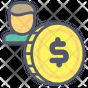Dollar Coin Coin Dollar Icon