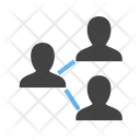 Connected Users Employee Icon