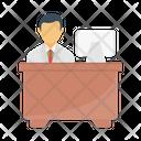 Employee Working Icon
