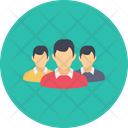 Employees Team Office Icon