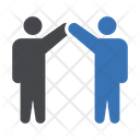 Teamwork Group Employees Icon