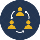 Employees Group Relationship Icon