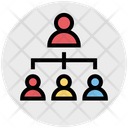 Employees Network Employees Sharing Icon