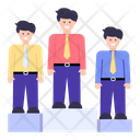 Employees Podium Icon